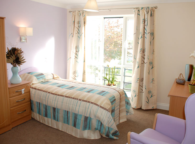 Fellingate Nursing Home in Gateshead, Bedroom