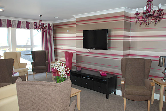 Fellingate Nursing Home in Gateshead, Lounge